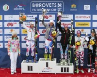 Today's Giant Slalom closed the week of the races for the European Cup in Bulgaria